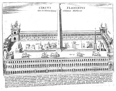 Picture Of Circus Flaminius 1641