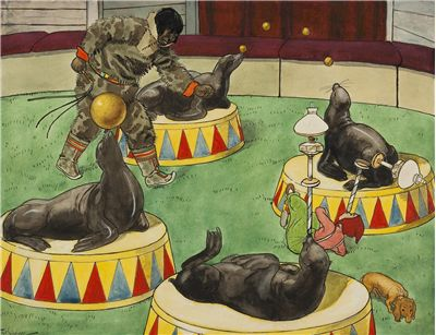 Picture Of Circus Seals
