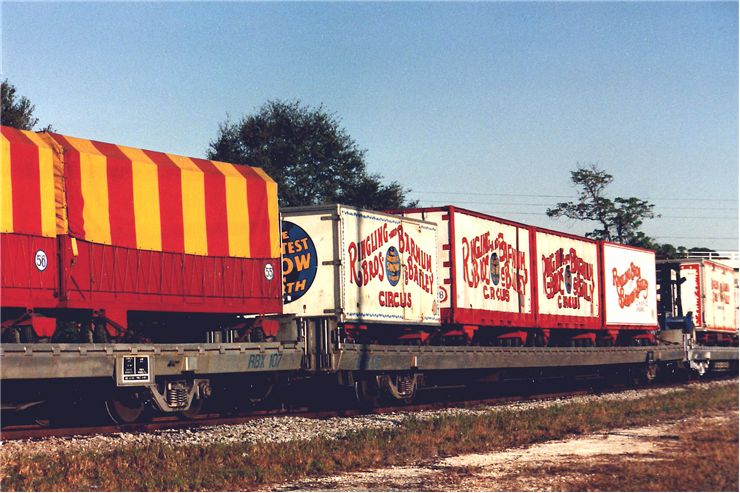 Picture Of Circus Train