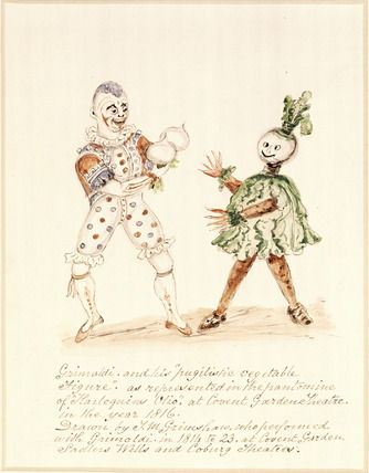 Picture Of Grimaldi And Vegetable The Christmas Pantomime