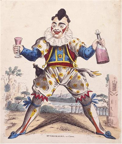 Picture Of Joseph Grimaldi As Clown Joey